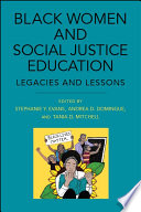 Black Women and Social Justice Education Book PDF