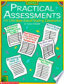 Practical Assessments for Literature based Reading Classrooms Book
