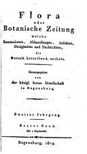 Flora, oder, Botanische Zeitung