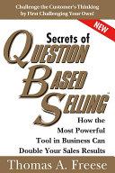 Secrets of Question-Based Selling Pdf/ePub eBook