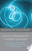 Learning Development in Higher Education
