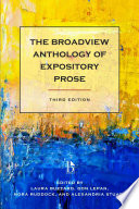 The Broadview Anthology of Expository Prose   Third Edition
