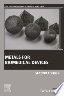 Metals for Biomedical Devices Book