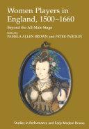 Women Players in England, 1500–1660 [Pdf/ePub] eBook