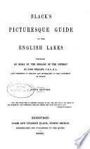 Black S Picturesque Guide To The English Lakes