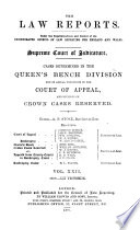 The Law Reports. Queen's Bench Division