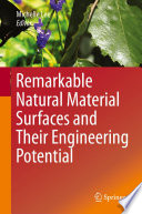 Remarkable Natural Material Surfaces and Their Engineering Potential