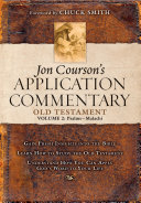 Jon Courson's Application Commentary: Volume 2, Old ...