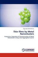 Thin Films By Metal Nanoclusters Book PDF