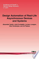 Design Automation of Real Life Asynchronous Devices and Systems