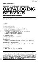 Cataloging Service