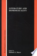 Literature and Homosexuality