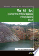 Mine Pit Lakes Book
