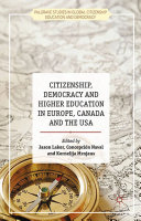 Citizenship, Democracy and Higher Education in Europe, Canada and the USA Pdf/ePub eBook