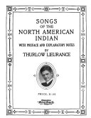 Songs of the North American Indian