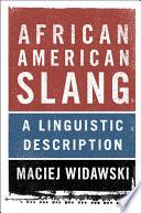 African American Slang