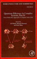 Quantum Efficiency in Complex Systems