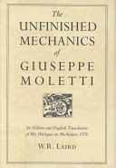 The Unfinished Mechanics of Giuseppe Moletti