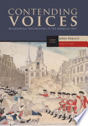Contending Voices Volume I To 1877 Book