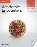 Academic Encounters Level 3 Student S Book Listening And Speaking With Dvd