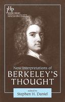 New Interpretations of Berkeley s Thought Book