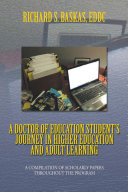 A Doctor of Education Student'S Journey in Higher Education and Adult Learning [Pdf/ePub] eBook