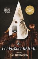 Pdf Black Klansman Telecharger