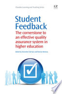 Student Feedback Book