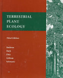Terrestrial Plant Ecology Book