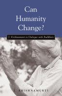 Can Humanity Change? Pdf/ePub eBook