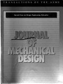 Journal of Mechanical Design