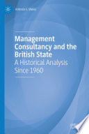 Management Consultancy and the British State
