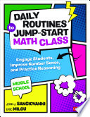 Daily Routines to Jump Start Math Class  Middle School