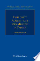 Corporate Acquisitions And Mergers In Taiwan Book PDF