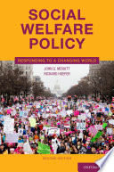 Social Welfare Policy Book PDF