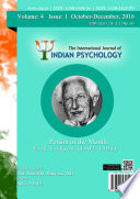 The International Journal Of Indian Psychology Volume 4 Issue 1 No 81