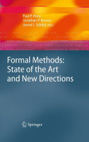Formal Methods: State of the Art and New Directions Pdf