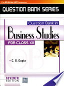 Qb In Business Studies Xii 7E (2009)
