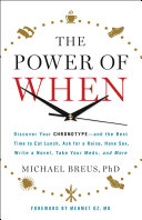 Pdf The Power of When