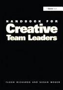 Handbook for Creative Team Leaders