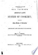 American Lady s System of Cookery Book PDF
