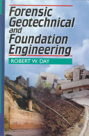 Forensic Geotechnical and Foundation Engineering Book