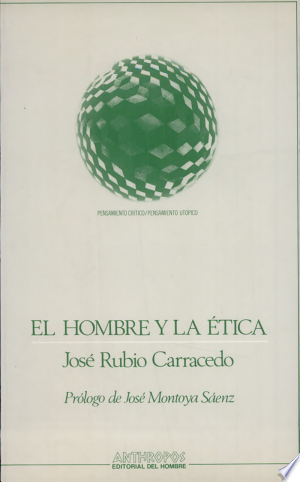 Download El hombre y la ética Free Books - Dlebooks.net