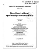 Time-resolved Laser Spectroscopy in Biochemistry