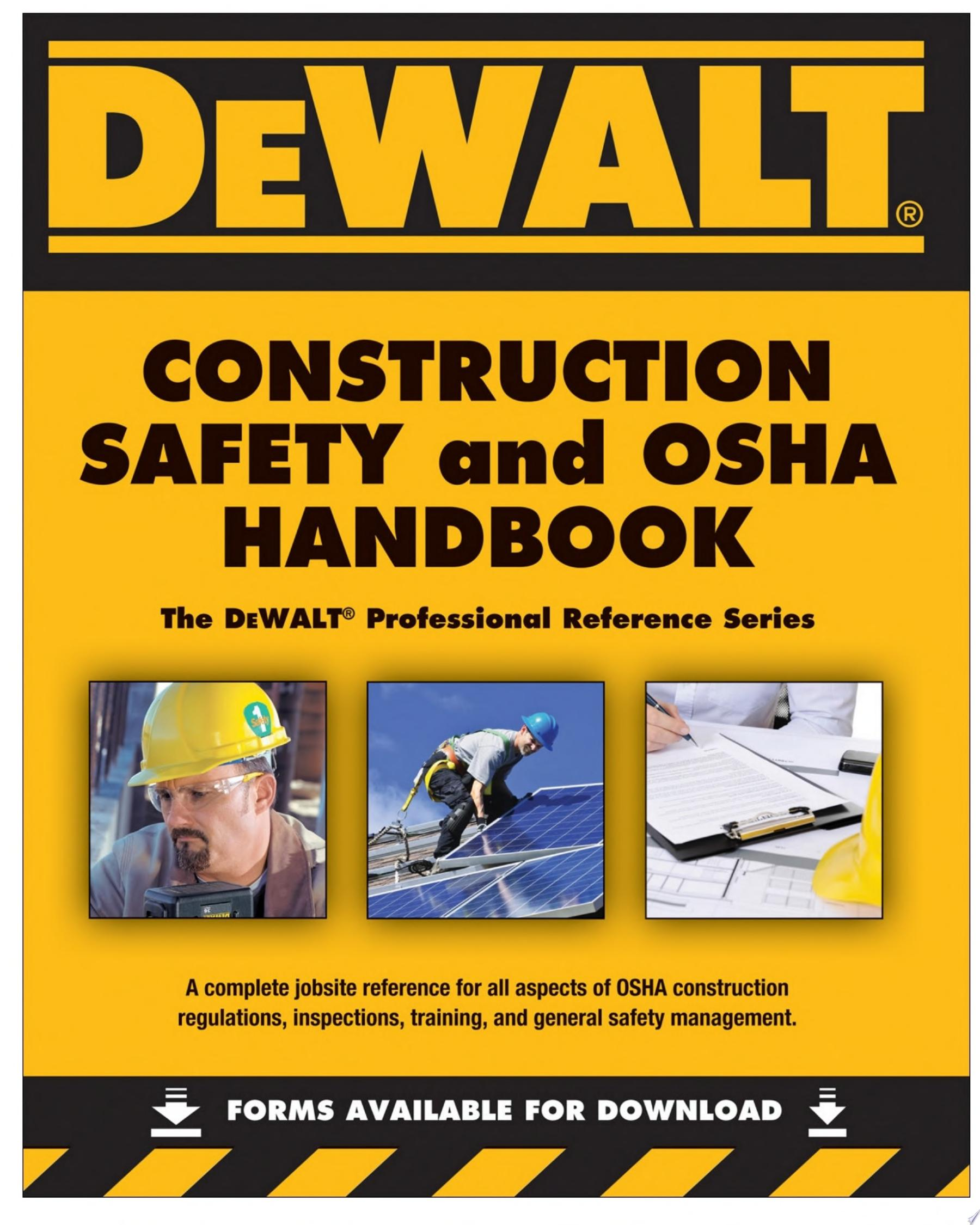 DEWALT Construction Safety   OSHA Handbook