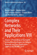 Complex Networks and Their Applications VIII