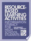 Resource Based Learning Activities