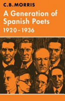 Pdf A Generation of Spanish Poets 1920-1936