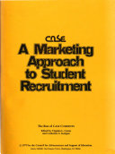 A marketing approach to student recruitment