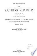 The Southern Reporter Book PDF